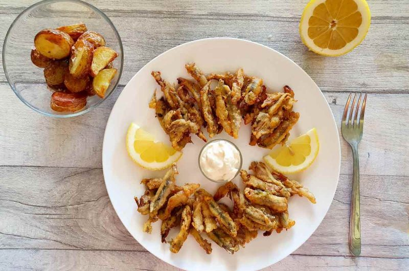 How to Make Traditional Andalucian Boquerones al Limon (Fried Anchovies Marinated in Lemon)