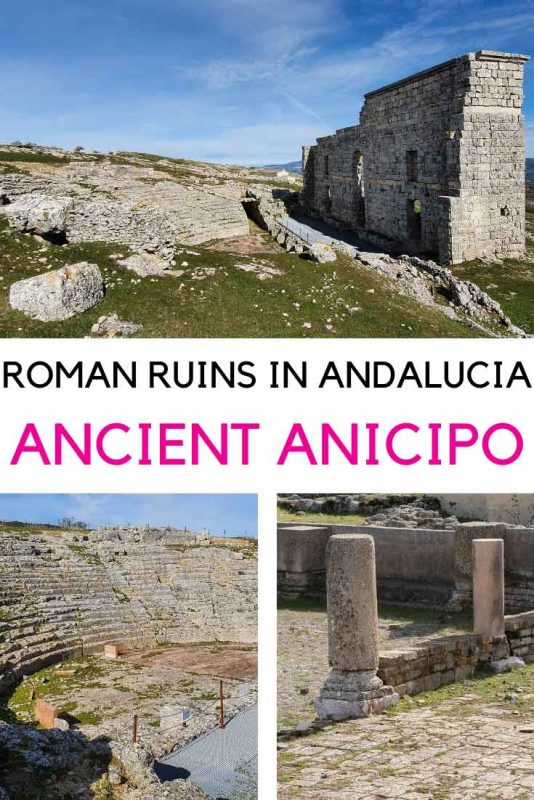 The Roman Ruins of the Ancient City of Acinipo