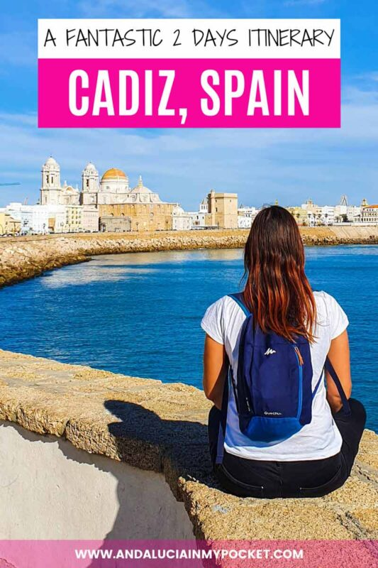 Two days in Cadiz itinerary - Pin