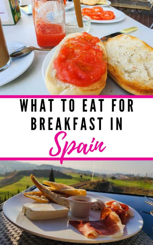 What to eat for breakfast in Spain - The traditional Spanish Breakfast