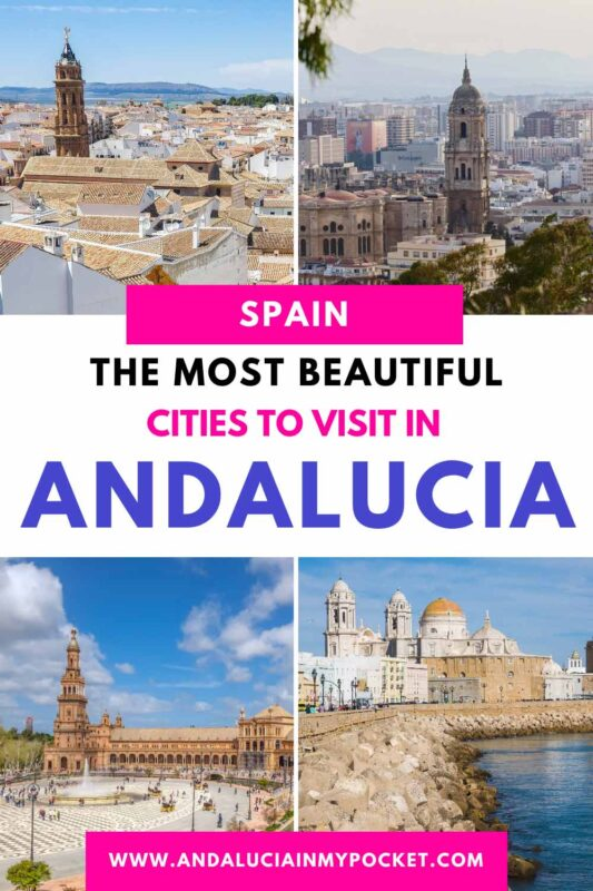 The Most Beautiful Cities in Andalucia pin