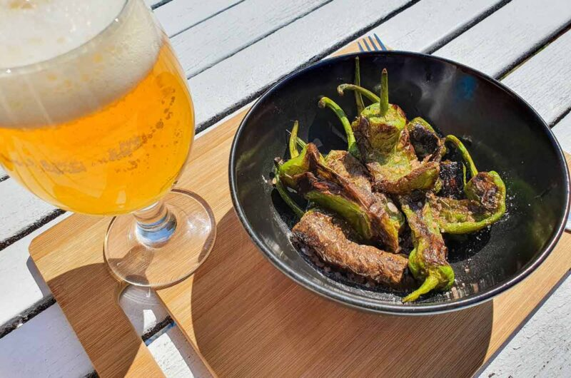 Cooking Padrón Peppers – How to Make Spanish Pimientos de Padrón Recipe