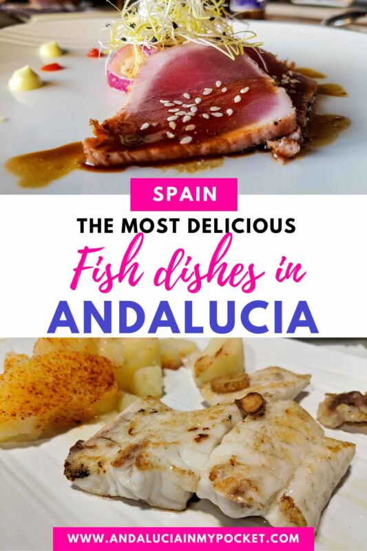 The Best Fish Dishes in Andalucia pin